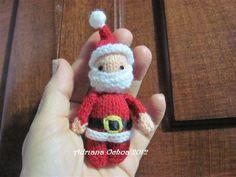 Amigurumis Navidad 2015 : Amigurumis amorosos carita de papá noel mis trabajos de navidad