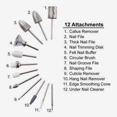 Pedinova III Nail Care System (FootSmart.com) be careful if using this tool-I ... - My Blog - Mila Acrylic Nail Drill, Acrylic Nails At Home, Acrylic Nail Tips, Acrylic Nail Supplies, Polygel Nails, Trim Nails, Nail Nail, Nail Polish, Nail Tech School