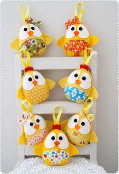 Plushka Handmade Softies, Easter Gifts, Chicks, Chickens:
