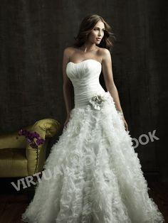 Vestido de novia corte A (Tex21) :: Virtual Novia Book