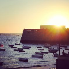 131. #veranoenAndaluciaEs La caleta, Cádiz. By Amanda López Ures