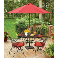 Patio-Furniture-Sets-Clearance-5PC-Iron-Steel-Garden-Backyard-Dining-Set-Seats-4