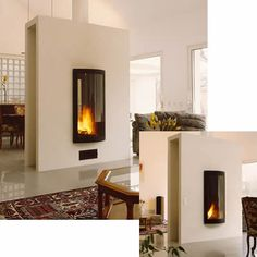 Pictofocus Double Fronted Fire