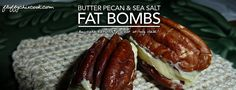 Looking for a quick snack? Fat bombs are the rage in the low carb keto world, because people are finally embracing that it takes fat to lose fat. Most of those fat bombs are sweet and feature ingre…
