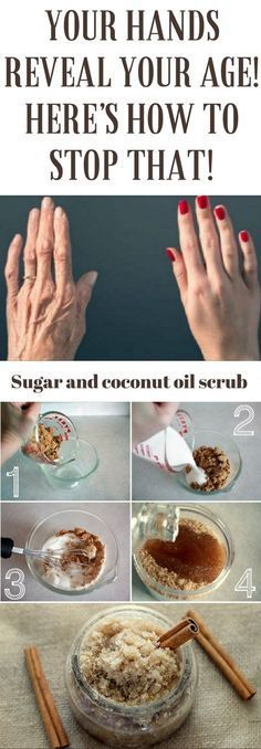 YOUR HANDS REVEAL YOUR AGE! HERE'S HOW TO STOP THAT! #sugar #hands #detoxrecipes