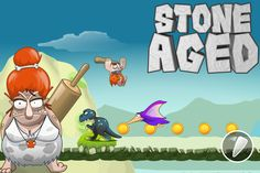 Stone Aged - Caveman Adventure In The Land Of Dinosaurs - Welcome to the…