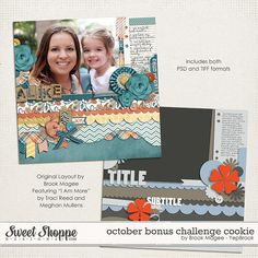 Template freebie from Brook Magee for Sweet Shoppe Designs