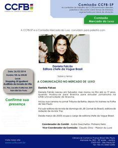 ♥ Ganhadores dos Convites para a Palestra com Daniela Falcão Editora Chef da VOGUE Brasil ♥  http://paulabarrozo.blogspot.com.br/2014/03/ganhadores-dos-convites-para-palestra.html