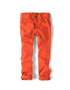 bright jeans. another must have for fall.