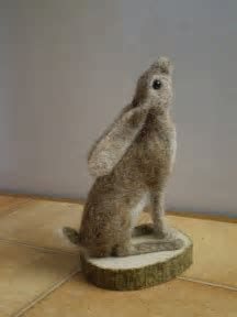 Image result for Tutorial Needle Felted Hare #needlefeltingtutorials