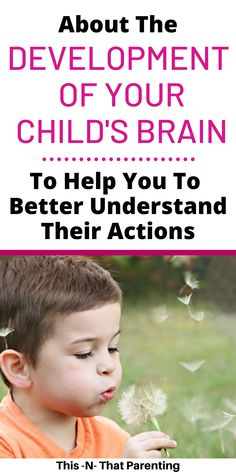 When you understand your child's brain development, will will understand their emotions and actions. Brain development plays a huge roll in your child's behavior. The more you know, the more empathetic you'll be! Child Development Activities, Toddler Development, Emotional Development, Language Development, Child Behavior Problems, Kids Behavior, Behavior Plans, Behavior Charts, Single Parenting