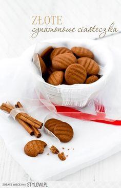 Moje Wypieki | Złote cynamonowe ciasteczka na Stylowi.pl