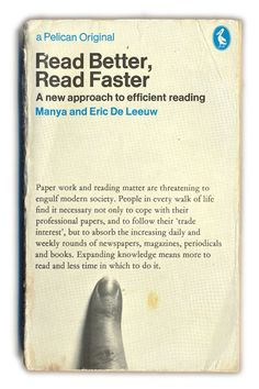 Read Better, Read Faster #Pelican