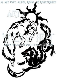 wildspiritwolf tattoo design