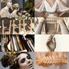 """M  U  S  E  S   1/5  """"we are the muses, goddesses of the arts & proclaimers of heroes"""" Modern Princesses learn from the Muses: *strength* *sisterhood* *intelligence* *confidence* And that's the gospel truth! Rock on P R I N C E S S !"""