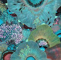 love this turquiose palette
