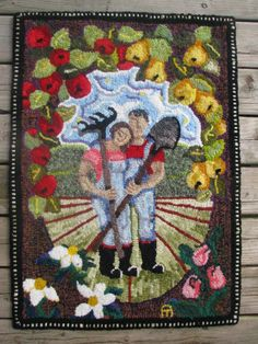 A New Beginning -- Rug Hooking Daily