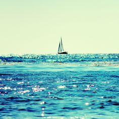 by the sea this is where I want to be (and even better if I were on this sailboat)!!