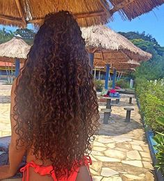 """naturalhairqueens: """"Long curly hair will have you just sittin' there staring at it. Black Curly Hair, Long Curly Hair, Curly Hair Styles, Natural Hair Styles, Biracial Hair, Afro Textured Hair, Long Natural Hair, Queen Hair, Beautiful Long Hair"""