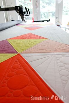 Quilting Up and Down