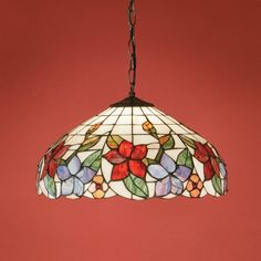 """(Sponsored Link) Tiffany Style Ceiling Light, 16 """"Over Plexiglass Plastic Rose .(Sponsored Link) Tiffany Style Ceiling Light, 16 """"Over Plexiglass Plastic Rose Flower DesignWhen looking for a lamp for your home, the possibilities are almost Tiffany Style Ceiling Lights, Glass Ceiling Lights, Stained Glass Lamp Shades, Faux Stained Glass, Art Diy, Art Sculpture, Bright Homes, Unique Lamps, Glass Art"""