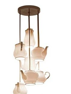 Lampadario Teapot by Roche Bobois Paris #lampade #lampadedesign #rochebobois