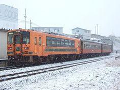 ☆080:津軽鉄道ストーブ列車併結21-101+オハフ33-1+オハ46-2