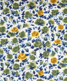 Liberty Art Fabrics Ricardo's Bloom B Tana Lawn Liberty.co.uk