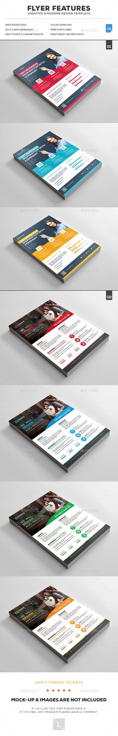 Corporate Business Flyer Template | Business flyer templates ...