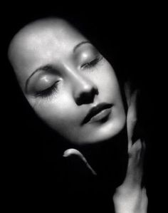 Merle Oberon by George Hurrell, 1930s. ~ ~ Such a Beauty,  My Mother Said She Was Gorgeous! ~