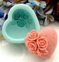 Silicone molds Color:Turquoise Made in China Dishwasher safe,Easy to use and quick to clean Product:Soap Molds, Candle Molds, Craft Molds Finished Soap weight : Soap Making Recipes, Homemade Soap Recipes, Homemade Ice Pack, Resin Crafts, Diy Crafts, Jewelry Crafts, Decorative Soaps, Soap Carving, 3d Rose