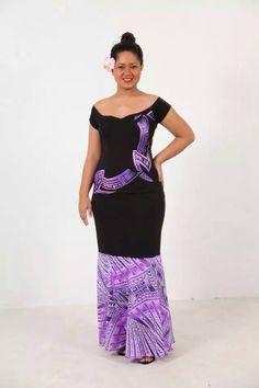 Samoan Puletasi Designs New Zealand Island Wear, Island Outfit, Samoan Designs, Polynesian Designs, Polynesian Tribal, Samoan Dress, Island Style Clothing, Different Dresses, African Dress
