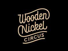 Dribbble - Wooden Nickel Circus by Sergey Shapiro