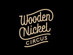 Dribbble - Wooden Nickel Circus by Sergey Shapiro