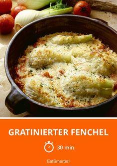 Gratinierter Fenchel - smarter - Zeit: 30 Min.   eatsmarter.de