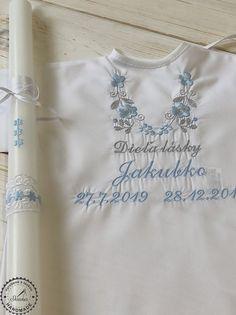Objednajte spolu košieľku a sviečku na krst v modrom prevedení pre chlapca Tops, Women, Fashion, Moda, Fashion Styles, Fashion Illustrations, Woman