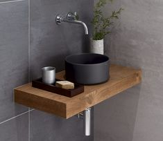 Small Toilet Room, Guest Toilet, Downstairs Toilet, Small Bathroom Sinks, Tiny House Bathroom, Modern Bathroom, Bathroom Design Luxury, Bathroom Design Small, Washbasin Design