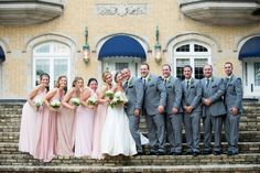 Bridal Party, Laurel Hall Indianapolis / LinneaLiz Photography / www.LinneaLiz.com