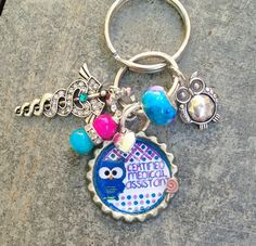 Certified Medical Assistant Keychain/Pursecharm - pinned by pin4etsy.com