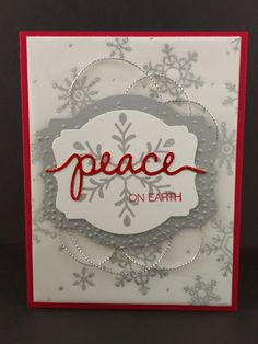Holly Jolly Greetings, Christmas Greetings Thinlits dies, Stampin' Up | Stylin' Stampin' INKspiration