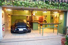 Modern Garage Storage Cabinet Design Ideas And Inspirations Green Photo