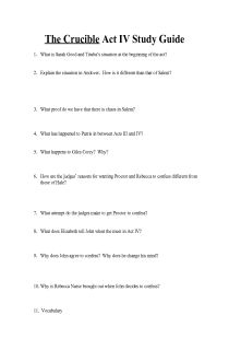 The Crucible Act   Discussion Study Questions studylib net