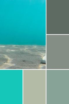 Beach Color Palettes, House Color Palettes, House Color Schemes, Bedroom Color Schemes, Colour Pallete, House Colors, Teal Bedroom Decor, Bedroom Decor For Small Rooms, White Room Decor