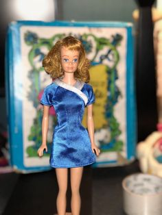 Barbie's friend Midge Titian Red Hair, Freckles, Blue Eyes, Vintage #Mattel #DollswithClothingAccessories