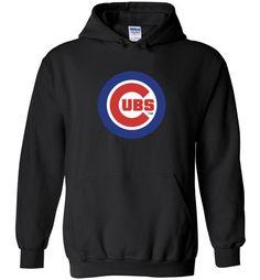 cool MLB Chicago Cubs Team Logo Unisex hoodie