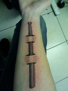 Drum Stick Tattoo