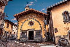 Lombardia Castione della Presolana - Parrocchia di Santa Maria Assunta   #TuscanyAgriturismoGiratola