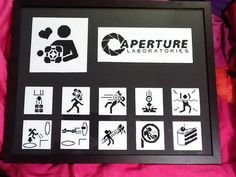 Crafty Bikyclist: Cross Stitch Portal Project is Complete! This was a triumph, I'm making a note here, huge success...
