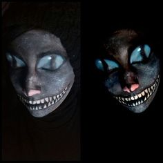 Cheshire cat facepaint
