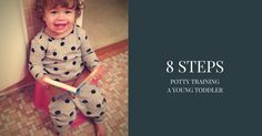 8 STEPS - potty training a young toddler